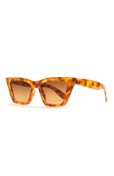 Tortoiseshell Cateye Sunglasses offer at $3.5