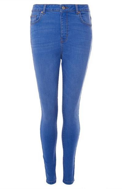 Blue High Waist Jeans offer at $15