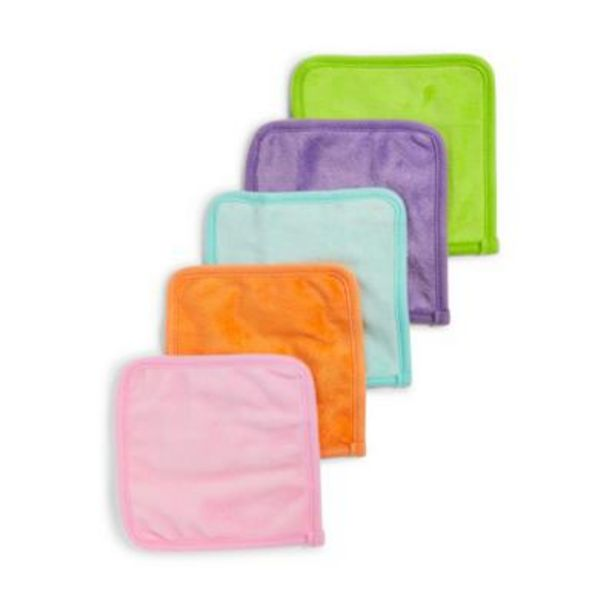 5 Pack Mood Boost Double Sided Face Cleansing Cloths deals at $4.5
