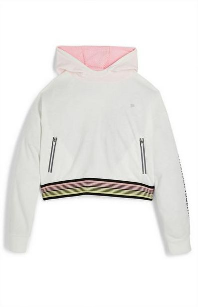 Older Girl Active White Hoodie offer at $13