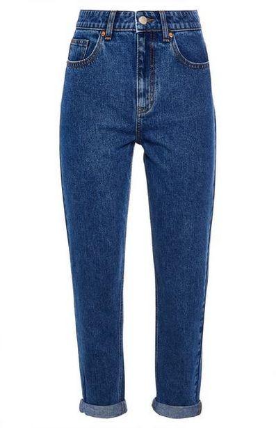 Blue High Waist Mom Jeans offer at $20