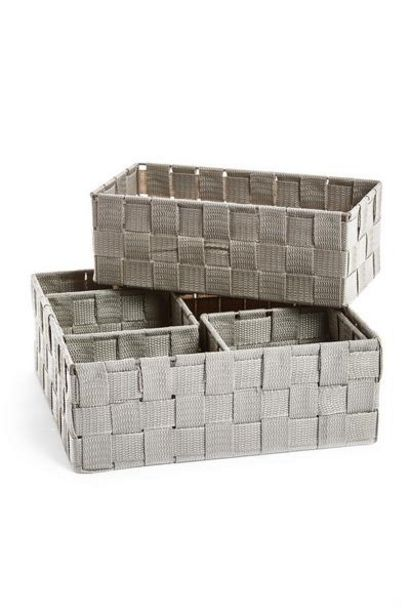 4-Pack Woven Baskets offer at $9