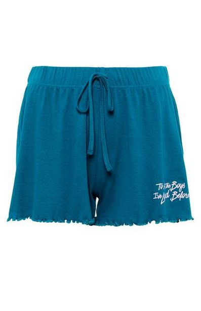 Teal To All The Boys Night Shorts offer at $12