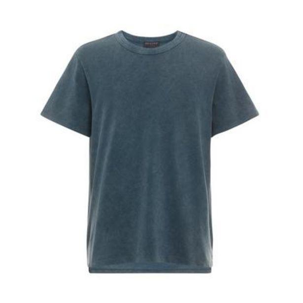 Navy Acid Washed Boxy T-Shirt deals at $12