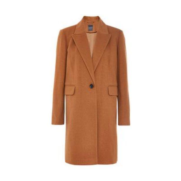 Tan Essential 3/4 Coat deals at $28