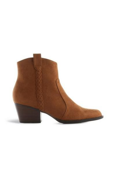 Tan Western Boots offer at $19