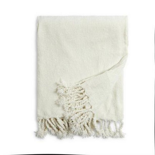 Ivory Chenille Throw deals at $13