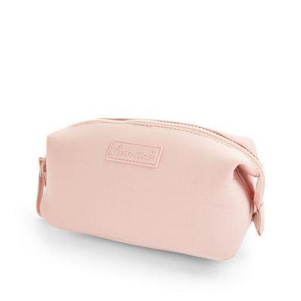 Blush Pink Neoprene Makeup Bag deals at $5