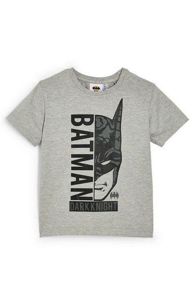 Younger Boy Gray Batman T-Shirt deals at $4.5