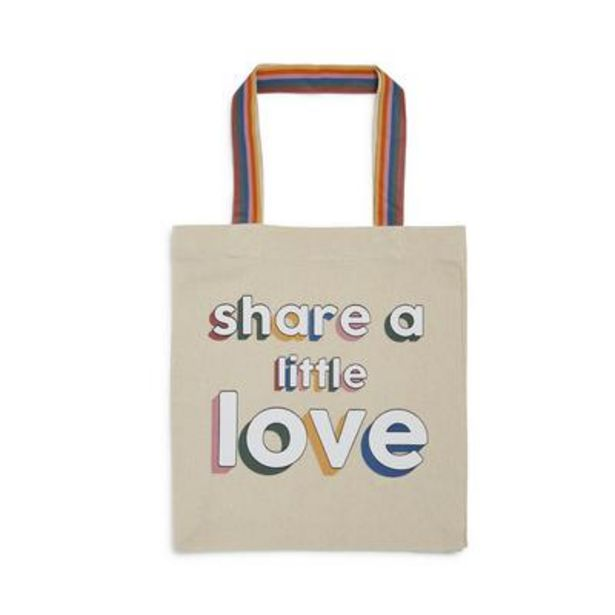 Stacey Solomon Ivory Slogan Tote deals at $5
