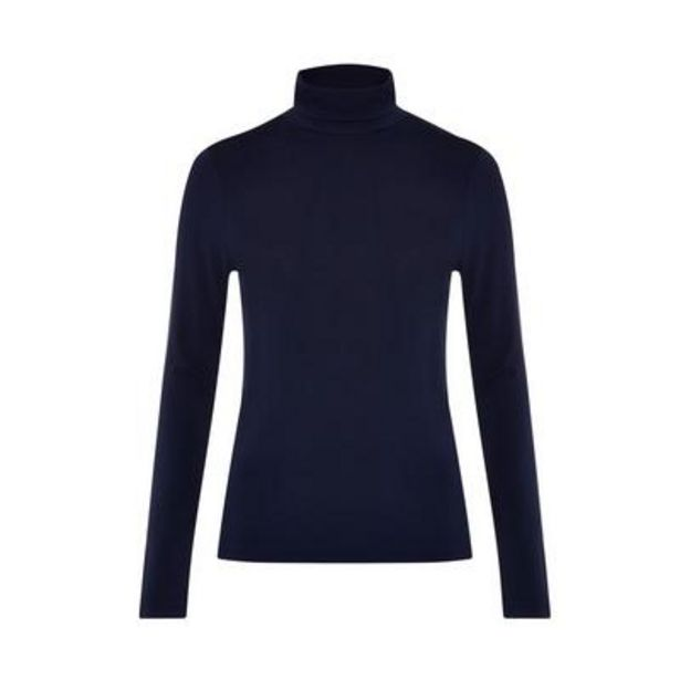 Navy Long Sleeve Roll Neck deals at $8