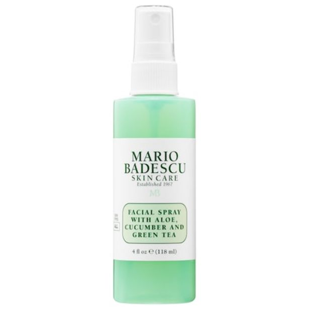 Facial Spray with Aloe, Cucumber and Green Tea Mini offer at $5