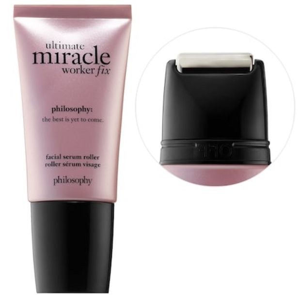 Ultimate Miracle Worker Fix Facial Serum Roller deals at $57