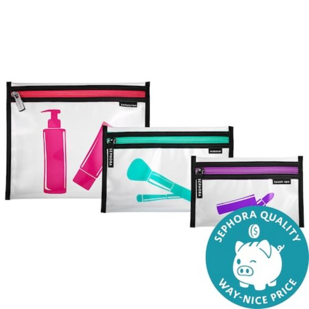 The Gallivanter Clear To Go: 3 in 1 Bags offer at $7
