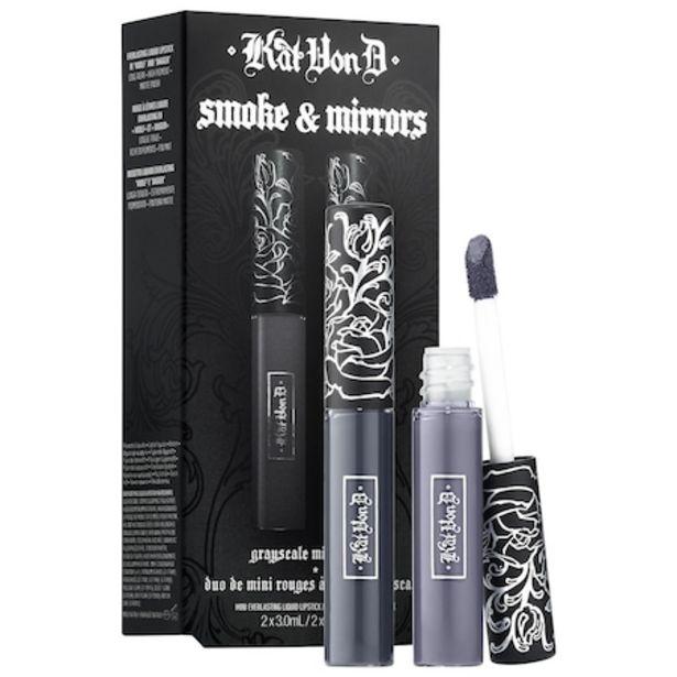 Kitten Mini Smoke & Mirrors Grayscale Mini Lip Everlasting Liquid Lip Duo offer at $5