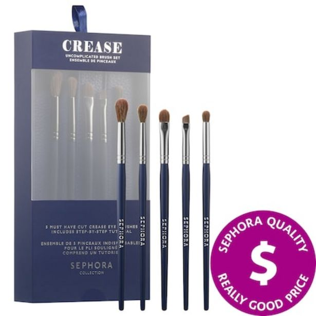 Crease: Uncomplicated Brush Set deals at $20