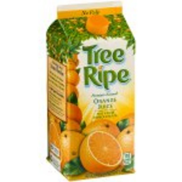 Save $.50 On TreeRipe Grove Select Juice - Expires: 10/23/2021 deals at