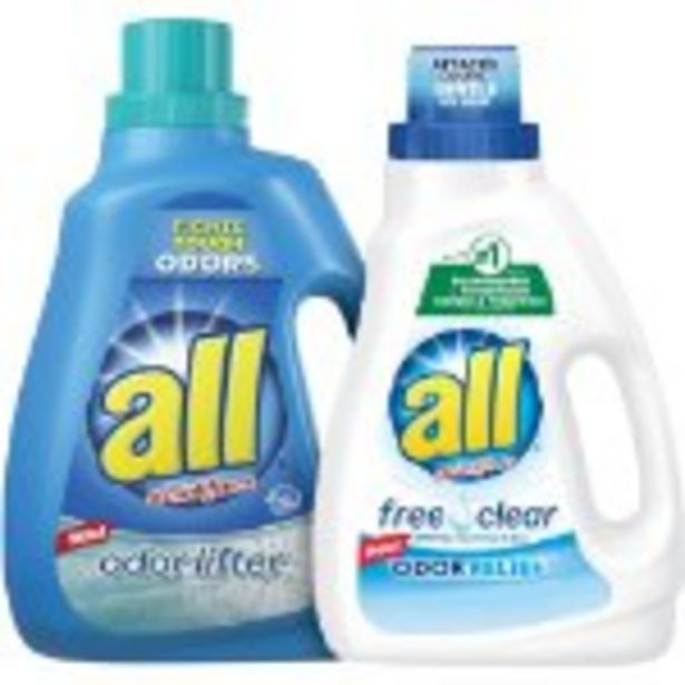 Save $2.00 On All Laundry Detergent - Expires: 08/07/2021 deals at