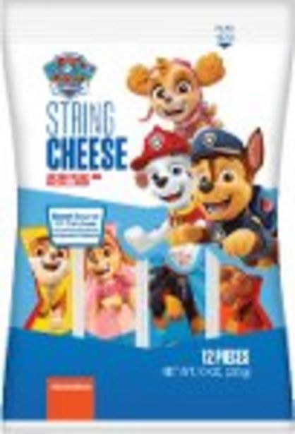$0.50 Cash Back on PAW Patrol String Cheese - Expires: 02/24/2021 offer at $0.5