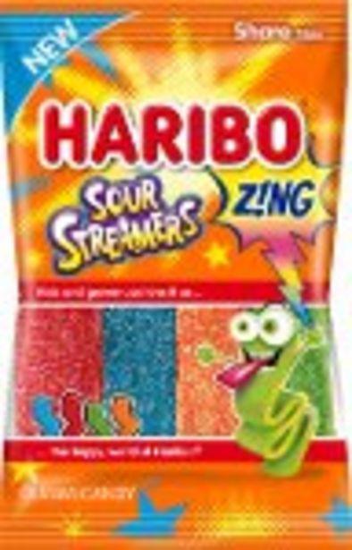 $0.50 Cash Back on HARIBO Z!NG Gummi Candy - Expires: 04/15/2021 offer at $0.5
