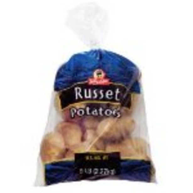 Save $.50 On Russet Potatoes 5-lb. Bag - Expires: 02/27/2021 offer at $0.5