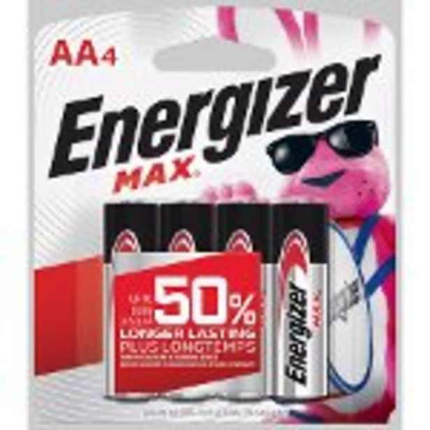 Save $1.00 on Energizer® Batteries - Expires: 11/20/2021 deals at