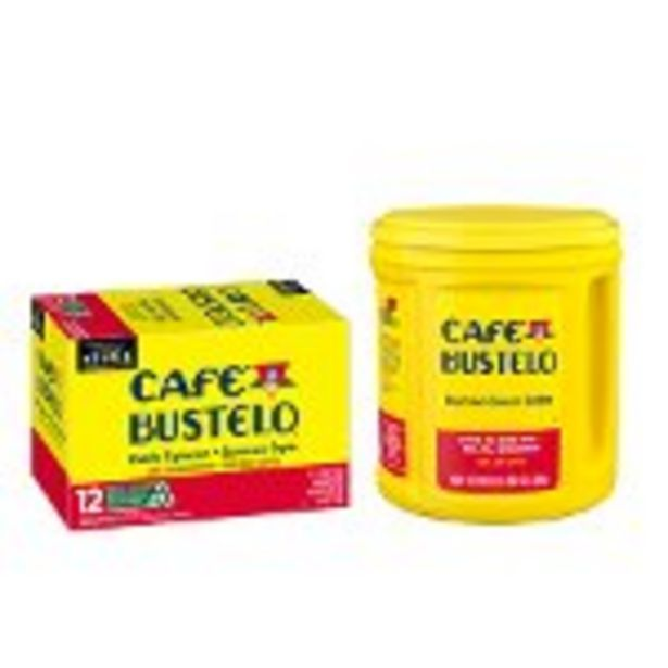 Save $1.00 on Café Bustelo® Coffee product - Expires: 11/20/2021 deals at