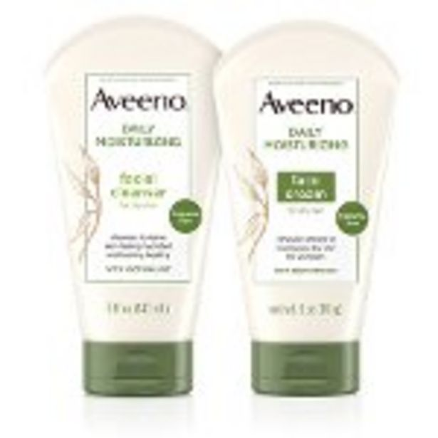 Save $2.00 on AVEENO® Facial Cleanser or AVEENO® Facial Moisturizer - Expires: 11/13/2021 deals at