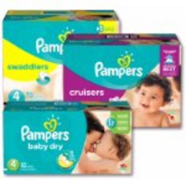 Save $6.00 on Pampers Diapers - Expires: 04/17/2021 offer at $6