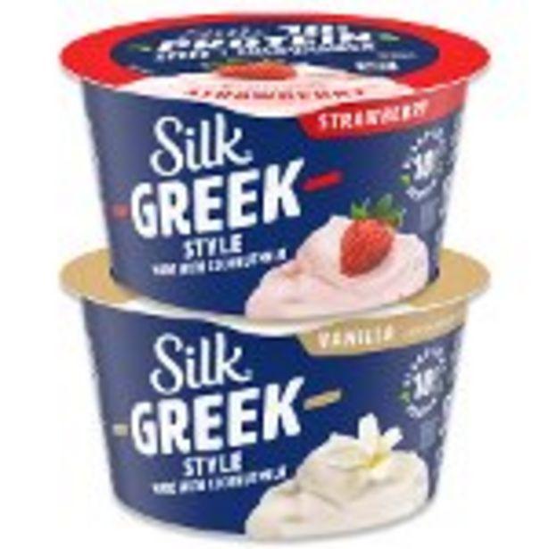Save $0.75 on Silk® Greek Style Coconutmilk Yogurt Alternative - Expires: 12/04/2021 deals at
