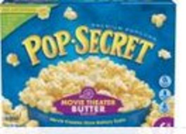 Save $1.00 On Pop Secret Popcorn 6-Pack - Expires: 10/30/2021 deals at