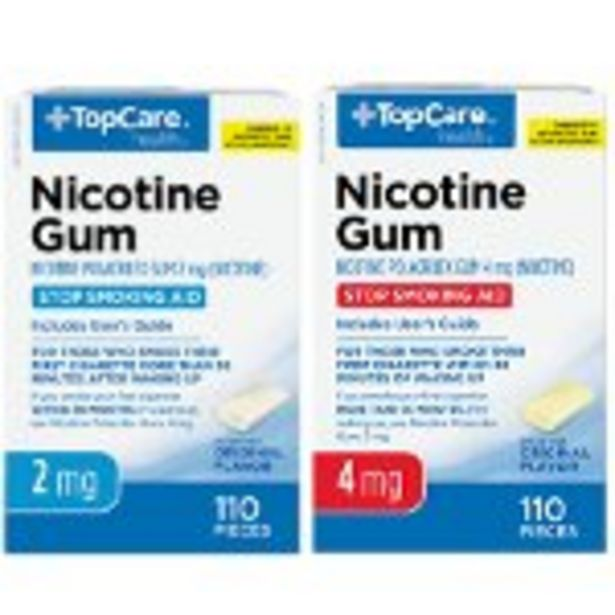 Save $5.00 Off TopCare Nico Gum Or Lozenge - Expires: 04/24/2021 offer at $5