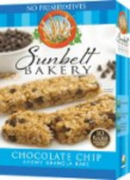 $0.25 Cash Back on Sunbelt Bakery Chewy Granola Bars - Expires: 03/10/2021 offer at $0.25