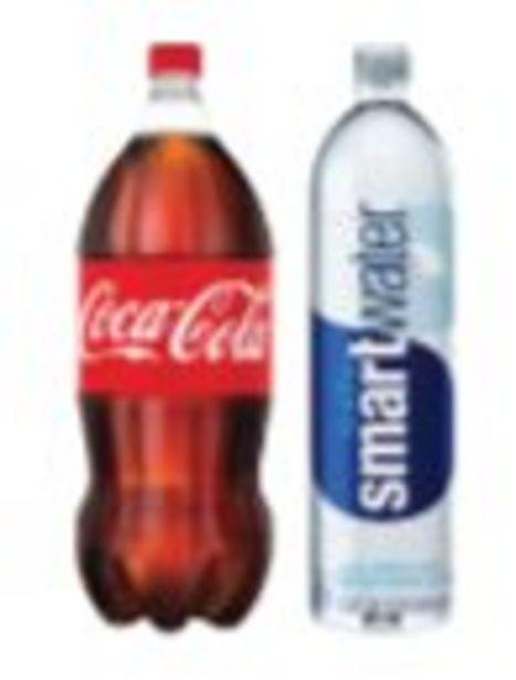Save $2.00 On Coke 2-Liter or Smartwater 1-Liter - Expires: 10/16/2021 deals at