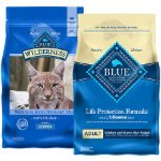 Save $3 on BLUE Dry Dog or Cat Food - Expires: 08/28/2021 deals at