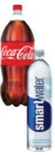 Save $2.00 On Coke 2-Liter or Smartwater 1-liter - Expires: 10/30/2021 deals at
