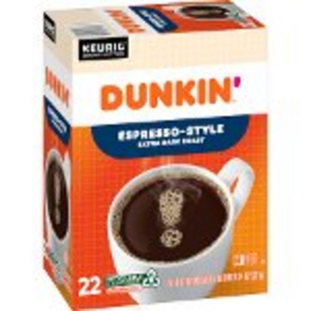 Save $0.75 on Dunkin'® Coffee product - Expires: 11/13/2021 deals at