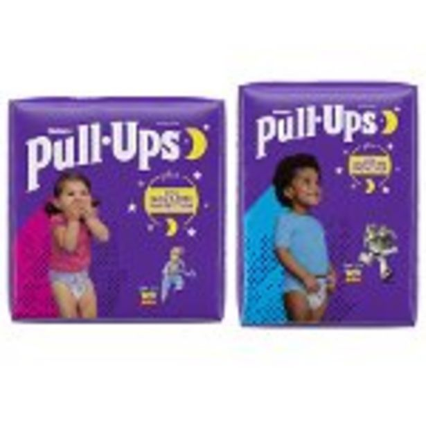 Save $3.00 on a Bag of Pull-Ups® Night-Time - Expires: 09/04/2021 deals at