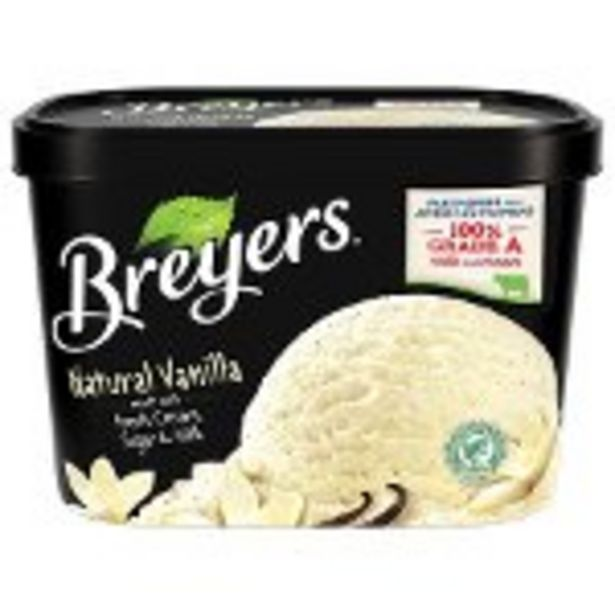 SAVE $0.50 on Breyers® product. - Expires: 04/10/2021 offer at $0.5