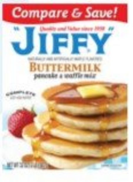 Save $1.00 On Jiffy Buttermilk Pancake Mix - Expires: 03/06/2021 offer at $1