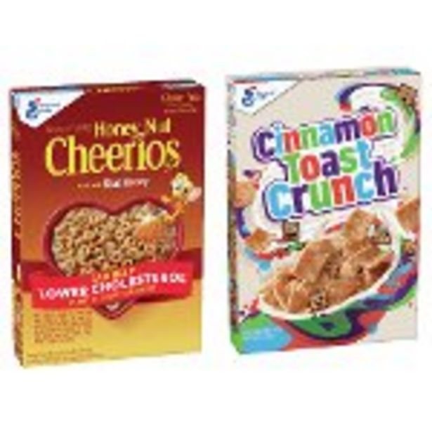 SAVE $1.00 on 2 Big G Cereals - Expires: 09/11/2021 deals at