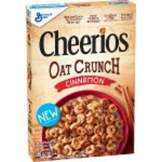Save $1.00 On General Mills Oat Crunch Cheerios Cereal - Expires: 10/23/2021 deals at