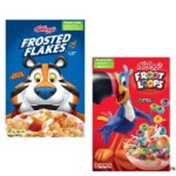 Save $1.00 on Kellogg's Cereals - Expires: 09/04/2021 deals at