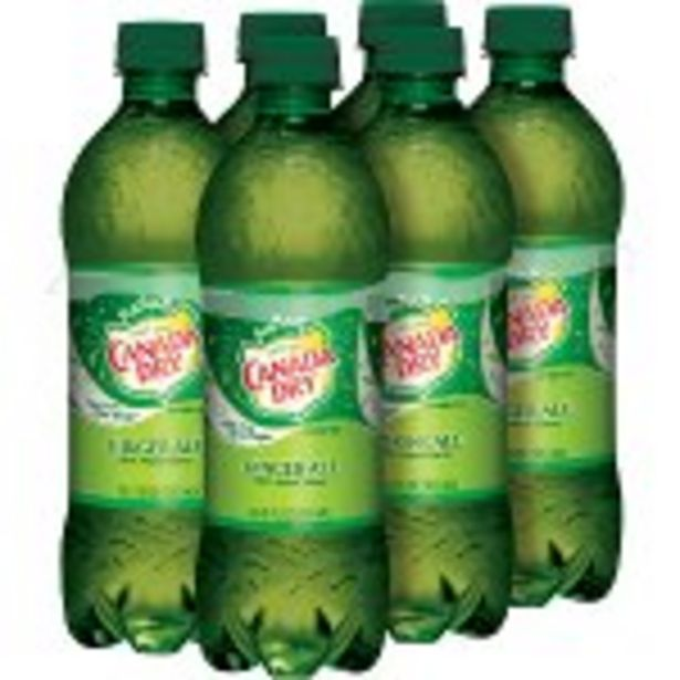 Save $2.00 On Canada Dry Ginger Ale or 7 Up 6-Pack - Expires: 10/30/2021 deals at