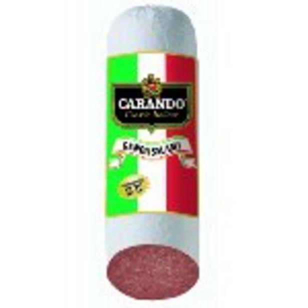 Save $1.00 per lb. on Carando Genoa Salami - Expires: 10/23/2021 deals at
