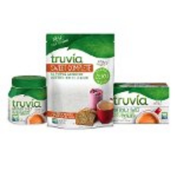 SAVE $1.50 on Truvia® Stevia Sweetener - Expires: 09/11/2021 deals at