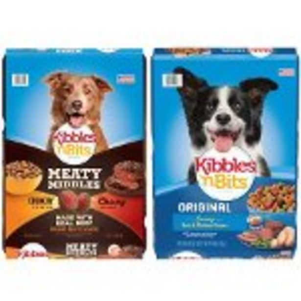 Save $1.00 on any ONE (1) Kibbles N Bits® Dog Food (up to 30lbs) - Expires: 12/11/2021 deals at