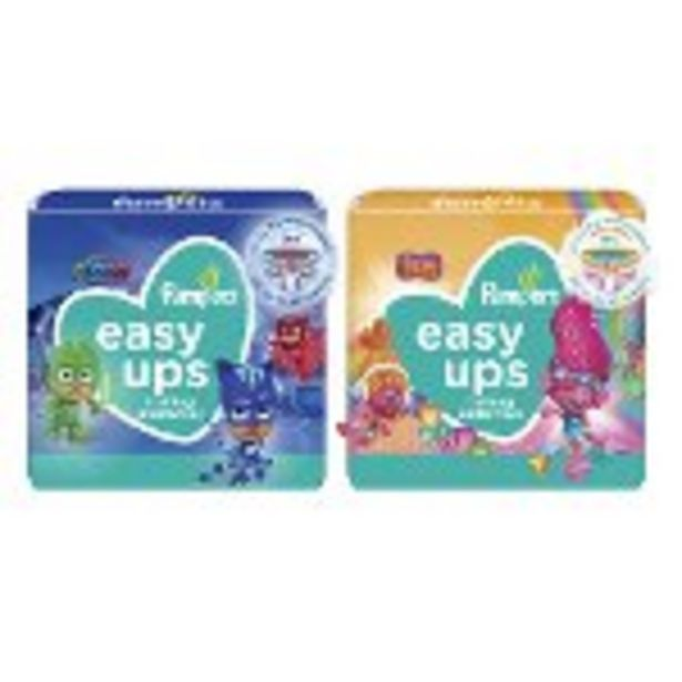 Save $1.50 on Pampers Easy Ups - Expires: 10/30/2021 deals at