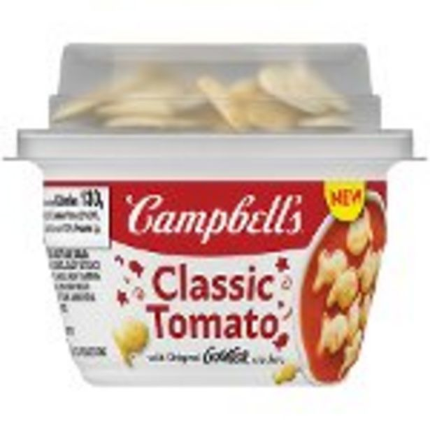 Save $0.75 on Campbell's Soup with a Crunch Product - Expires: 11/13/2021 deals at