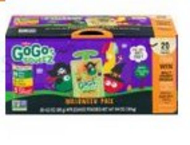 Save $1.00 On GoGo Squeez Halloween Variety 20-Pack - Expires: 10/23/2021 deals at